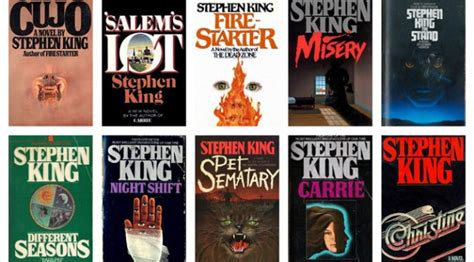 best stephen king books 10 best stephen king novels