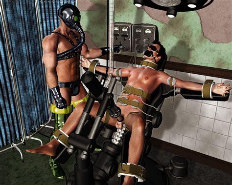 Gay Bondage Milking