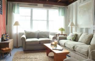 cottage livingroom a coastal cottage living room