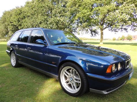 e34 bmw m5 touring up for sale on bring a trailer