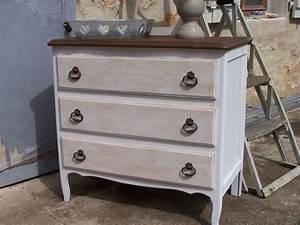 Peinture Sur Meuble : atout cr atif peinture a effets sur meubles objets ~ Mglfilm.com Idées de Décoration