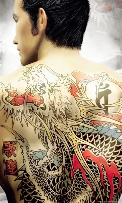 luxury yakuza tattoo wallpapers  images wallpapers