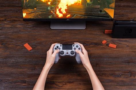 ps4 adapter controller switch nintendo usb wireless 8bitdo pc xbox use bluetooth fortnite playstation mando dualshock play adaptateur office perfect
