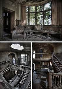 Urban Explorer Creates Ghostly Images in Abandoned ...
