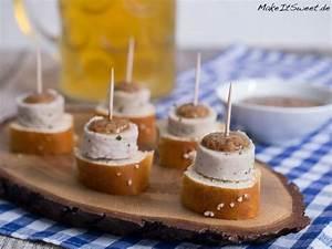 Oktoberfest Rezepte Buffet : wei wurst h ppchen zum oktoberfest rezept snacks to make fingerfood w rstchen h ppchen ~ Buech-reservation.com Haus und Dekorationen