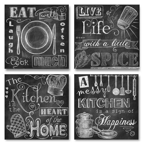 country chalkboard for kitchen 10 country kitchen wall decor ideas just diy decor 5942