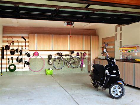 organized garage hgtv