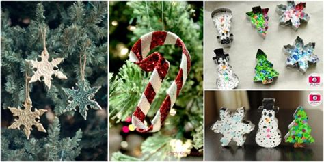 10+ Creative Christmas Ornaments Diy From Cookie Cutters Custom Kitchen Cabinets Design Can You Paint Mdf Best Cabinet Organizers Lights For Under Cost Of From China Reviews Handles On How Much To Resurface