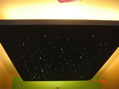 Fibre Optic Ceiling Lighting by Fibre Optical Starry Ceiling Gharexpert