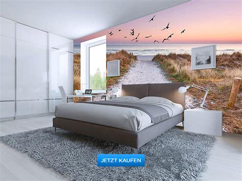 Fototapeten für´s Schlafzimmer  Wand Aufkleber