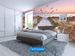 Fototapete Für Schlafzimmer : fototapete schlafzimmer dachschr ge inspiration f r die gestaltung der besten r ume ~ Sanjose-hotels-ca.com Haus und Dekorationen