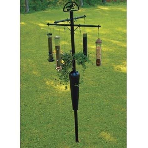 squirrel stopper deluxe bird feeder pole squirrel proof
