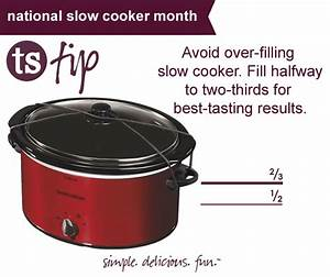 Tuesday Tip: National Slow Cooker Month