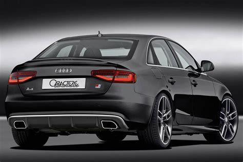 audi a4 b8 caractere rear diffuser with dual exhaust fits audi a4 b8