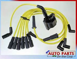 Spark Plug Wire   Ignition Coil Blazer S10 Jimmy Savana