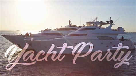 Miami Mega Yacht Party Youtube