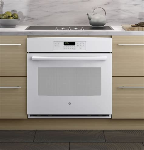 jtdfww ge  built  single wall oven white