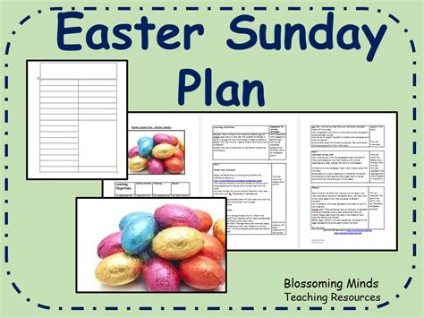 Easter Sunday Re Lesson By Blossomingminds  Teaching Resources Tes