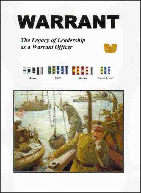 warrant  legacy  leadership   warrant officer