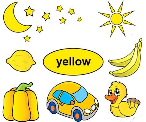 color yellow worksheets  kindergarten kindy yellow
