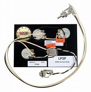 920d Custom Shop Lp3p Bourns  Cts  Switchcraft Les Paul