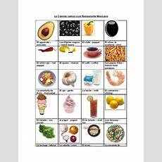Food & Restaurant Vocabulary