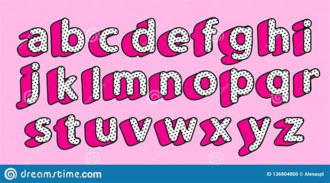 cute black polka dots  english alphabet  letters