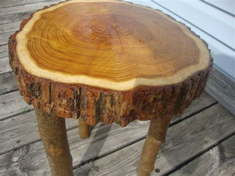 table top   natural  edge osage orange tree slice