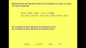 Oxydation Du Butan-1-ol Par Le Permanganate