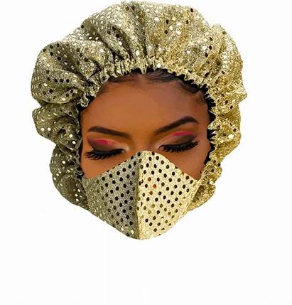 Mask Bonnet Masks Fabric Floating Coverings Head