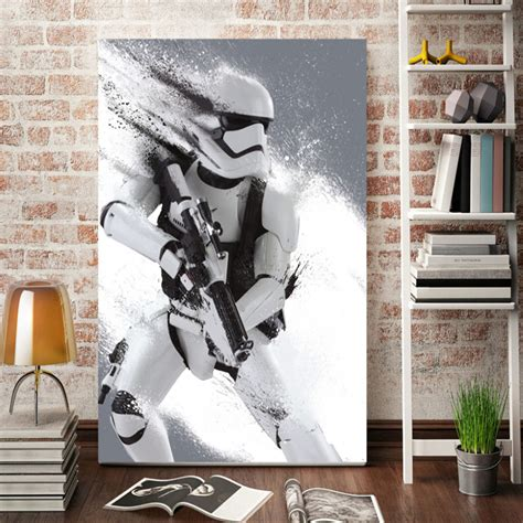 home decor wall posters aliexpress buy morden wall stormtrooper