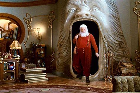 The Perturbing Design of Santa's Workshop, as Seen in Film
