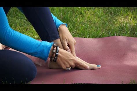 yoga  feet  dr melissa west
