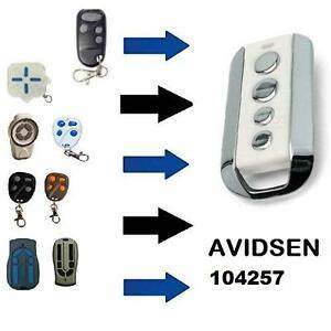 Telecommande Portail Avidsen : telecommande copieuse avidsen 104257 rolling code porte ~ Dode.kayakingforconservation.com Idées de Décoration