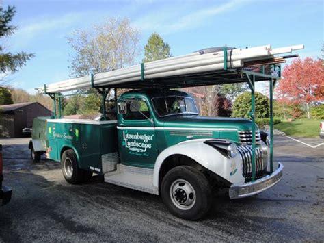awesome fleet  vintage work trucks tools