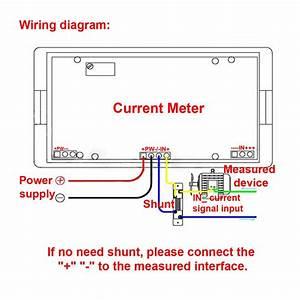 Volt Meter Shunt Wiring Diagram