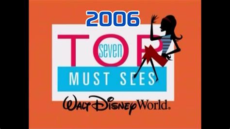 Top 7 Must Sees At Wdw  With Stacey  2006 Version Hq