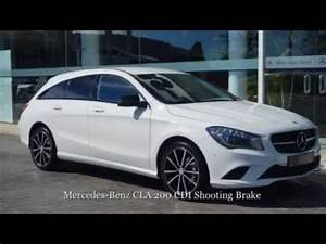 Mercedes Cla 200 Cdi : mercedes benz cla 200 cdi shooting brake jha 17215 mercedeskm0 youtube ~ Melissatoandfro.com Idées de Décoration