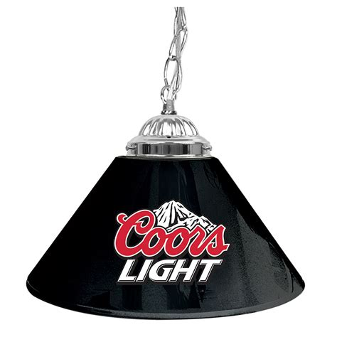 coors pool table light coors light 14in single shade bar l pool table light ebay
