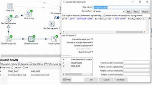 Pentaho Execute... Sql Variables Quotes