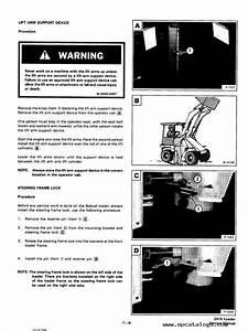 Bobcat 2410 Wheel Loader Service Manual Pdf