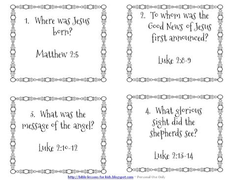 children s printable bible lessons them and try