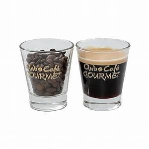 Verre à Café : bo te de 6 verres caf caffeino tasses et mugs ~ Teatrodelosmanantiales.com Idées de Décoration