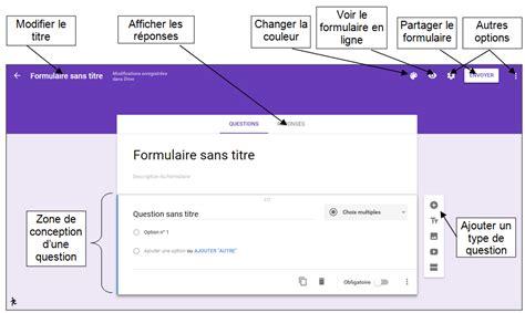 google google forms tutoriel cr 233 er un formulaire avec la nouvelle interface