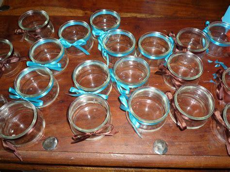 decoration de noel avec pot de yaourt en verre decoration pot de yaourt en verre sncast