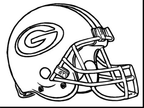 Green Bay Packers Coloring Pages Coloringsuitecom