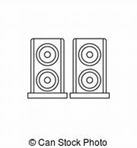 Audio speakers icon Vector Clipart Illustrations. 14,651 ...