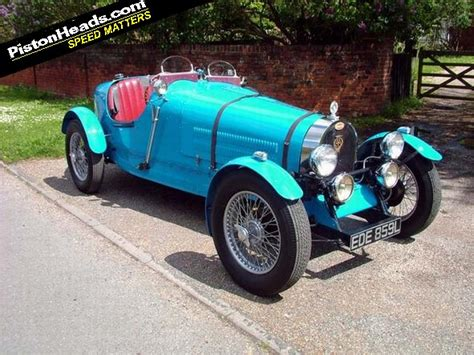 The type 35 was also available with an unsupercharged engine and that version had no hole in the engine hood. You Know You Want To: Teal Bugatti Type 35 replica | PistonHeads UK