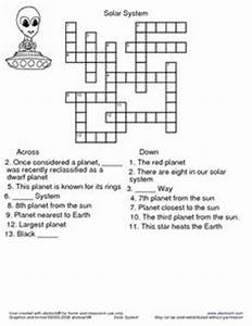 Solar System Crossword Puzzle 3rd - 4th Grade Worksheet ...
