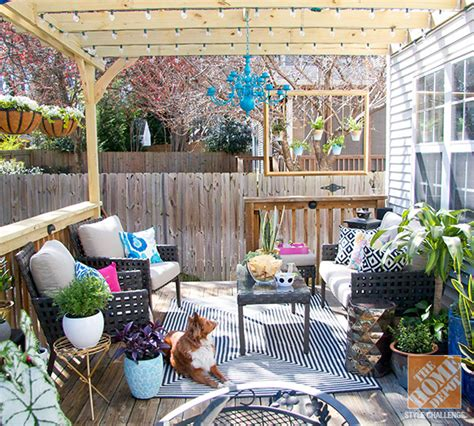 Outdoor Living Room Furniture For Your Patio by Patio Decorating Ideas Turning A Deck Into An Outdoor